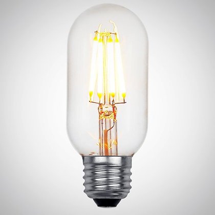 Акция! LED Лампа Эдисона T45 6W (Диммируемая)