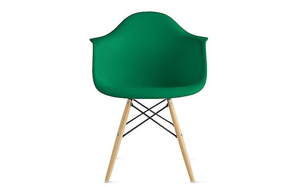 Стул Eames DAW зеленый