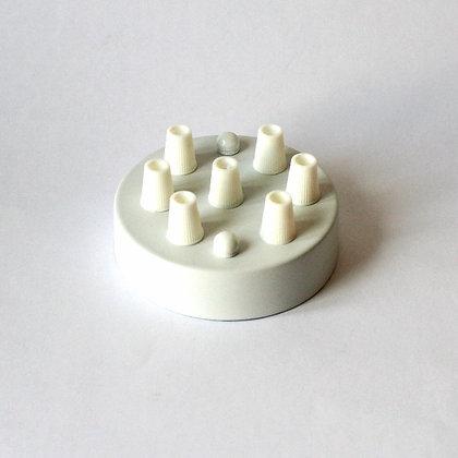 Потолочный крепеж белыйый на 7 отверстий