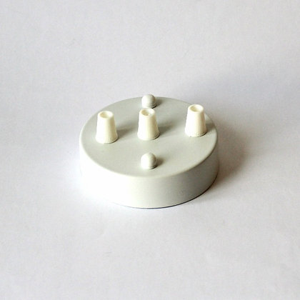 Потолочный крепеж белый на 3 отверстия