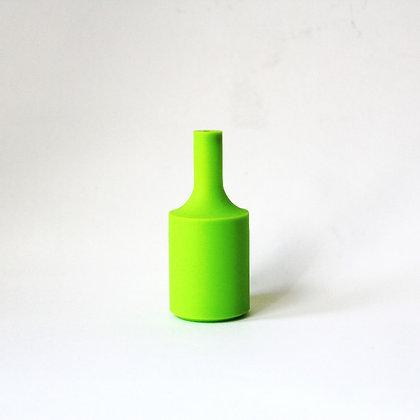 Патрон с силиконовой накладкой салатовый