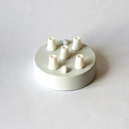 Потолочный крепеж белый на 5 отверстий