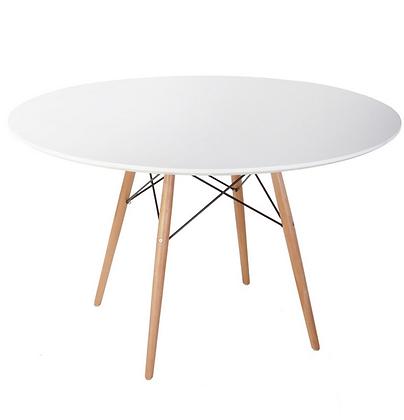 Стол Eames Wood круглый 120 см