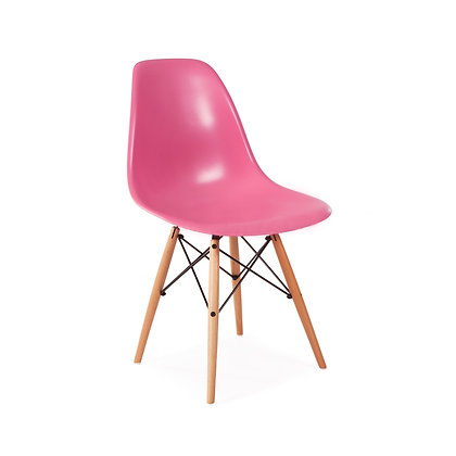 Стул Eames DSW розовый