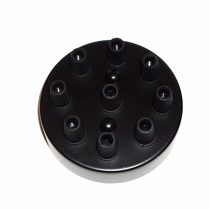 Потолочный крепеж черный на 9 отверстий