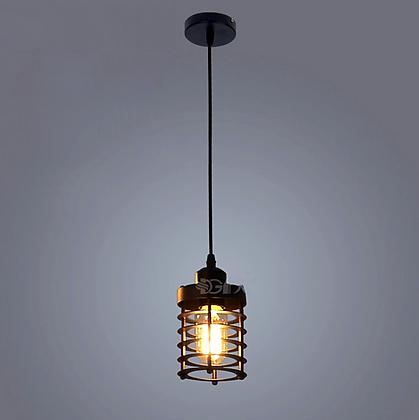 TOD13 Светильник со сталь. абажуром решеткой черн