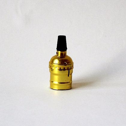 Алюминиевый патрон золотой