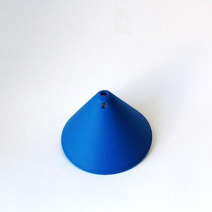 Потолочный крепеж конусный голубой