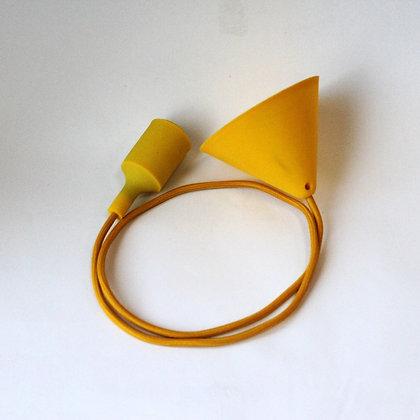 TOD36 Подвес с силиконовым патроном желтым
