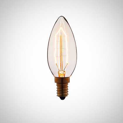 Акция! Лампа Эдисона C35 (цоколь Е14)