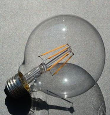 LED лампа G95