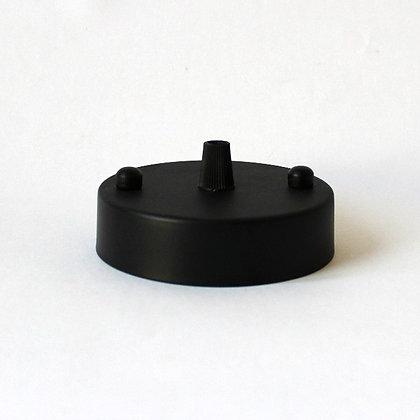 Потолочный крепеж черный диаметром 10 см
