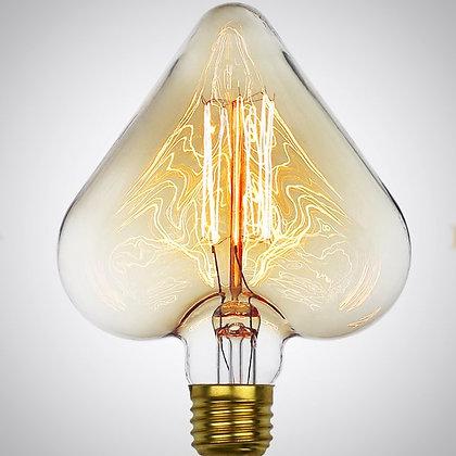 Акция! Лампа Эдисона Heart