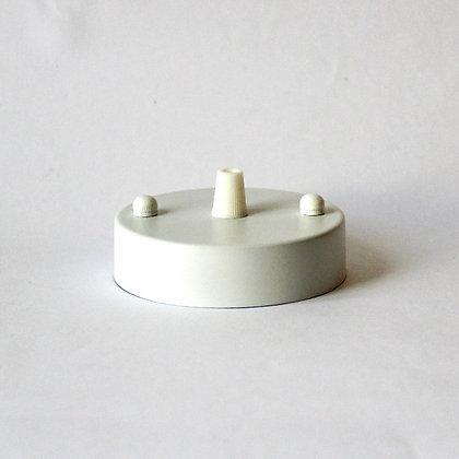 Потолочный крепеж белый диаметром 10 см