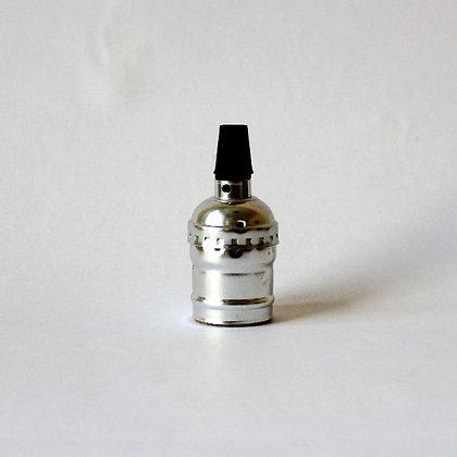 Алюминиевый патрон серебристый