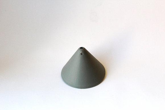 Потолочный крепеж конусный серый