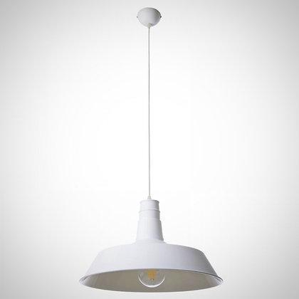 Светильник с абажуром белый 360 см в диаметре TOD52