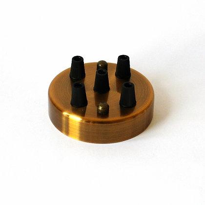 Потолочный крепеж бронзовый на 5 отверстий