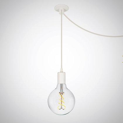 TOD10 светильник LOFT с крепежем провода (белый)