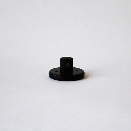 Крепеж провода черный