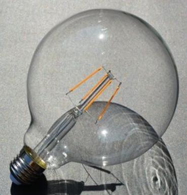 LED лампа G125