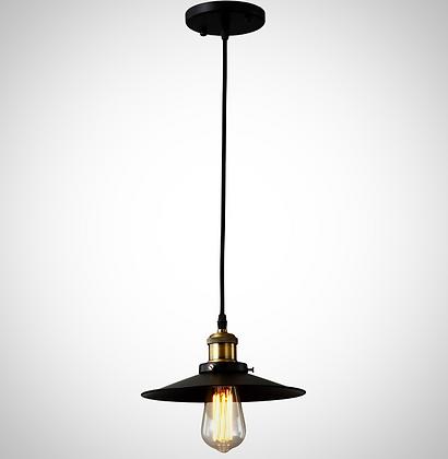 TOD1 (светильник LOFT диаметр абажура 22см черный)