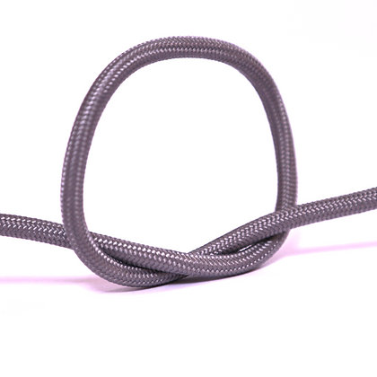 Провод в тканевой оплетке светло-серый
