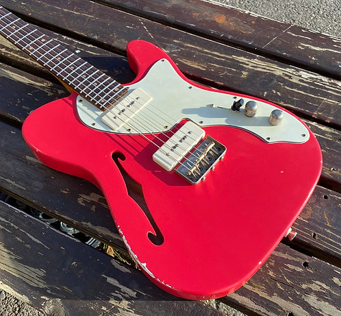 Baritone Semi-Hollow T-Type