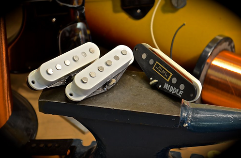 Freaky Overwound Single Coil Strat Pickup