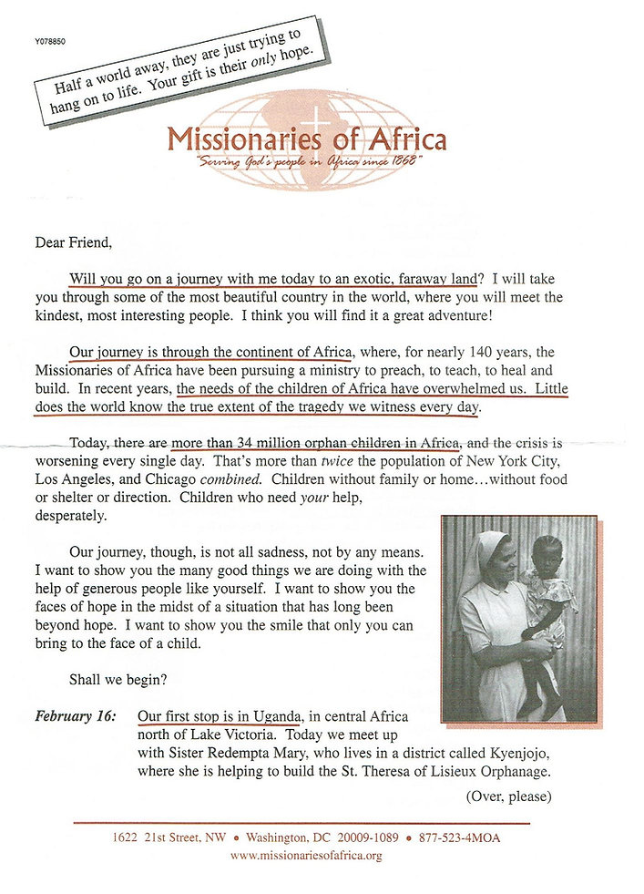Missionaries of Africa _Journey with me.