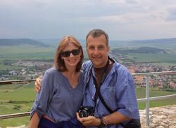 Roger and Natalie Spiis Castle Slovakia.jpg