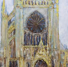 Cathédrale de Metz n°18 ( Façade Ouest)