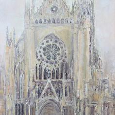 Cathédrale de Metz n° 15 ( Façade Ouest 1 )