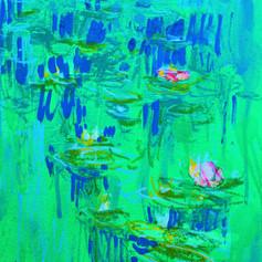 Monet Monet Monet Etude in Fluo