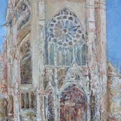Cathédrale de Metz n° 16 ( Façade Ouest 2 )