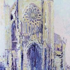 Cathédrale de Metz n° 17 ( Façade Ouest 3 )