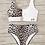 Thumbnail: High Waist Leopard Buckle Bikini