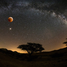 bloody Moon lunar eclipse
