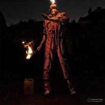 The fire juggler from Prague