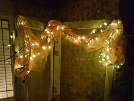 Try Lights in Your Garden