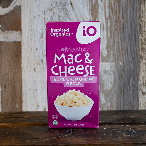 Deluxe White Cheddar Mac & Cheese, Inspired Organics, 6 oz.