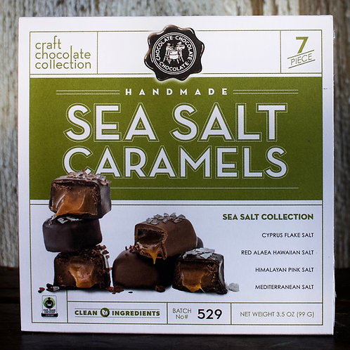Sea Salt Caramels Collection, Choc Choc Choc, 3.5oz