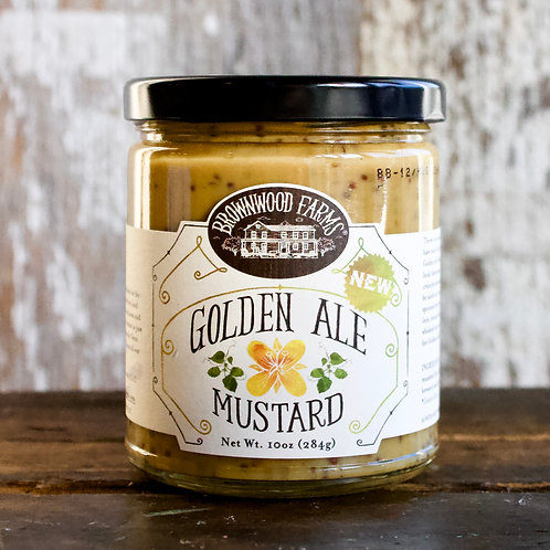 Golden Ale Mustard, Brownwood Farms