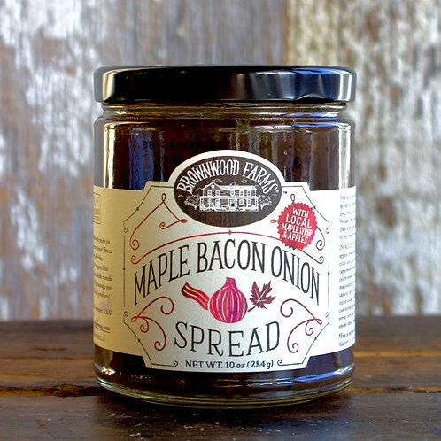 Maple Bacon Onion Spread, Brownwood Farms