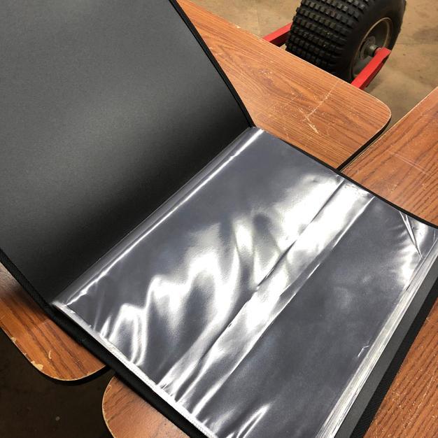 Scrap book, photo case?