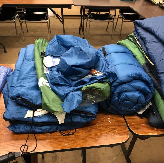 Misc sleeping bags