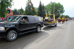 SAR at Stampede 2015 - on the route