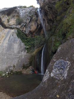 Cascade de Courmes 100% Canyon