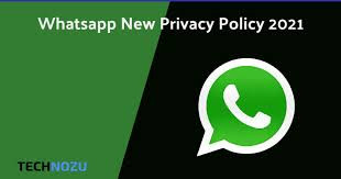 WhatsApp update its privacy policy