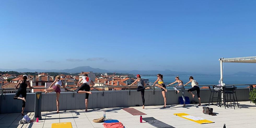 Pilates Flow samedi 07/08 10h00 terrasse du Radisson